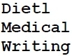 Dietl Medical Writing